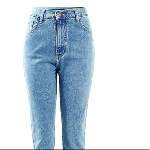 00% Cotton High Waist Mom Jeans high quality *New*